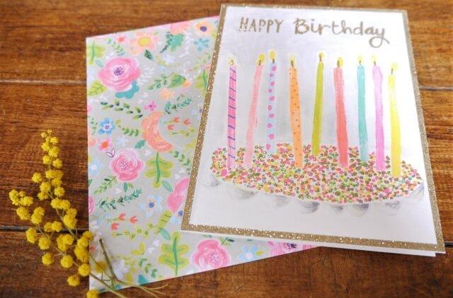 友人の子供 誕生日カード 書き方 文例